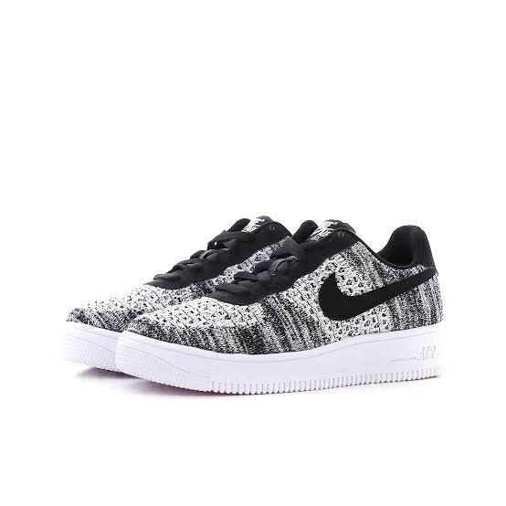 Air Force 1 Flyknit 2.0 Oreo Black White by Nike