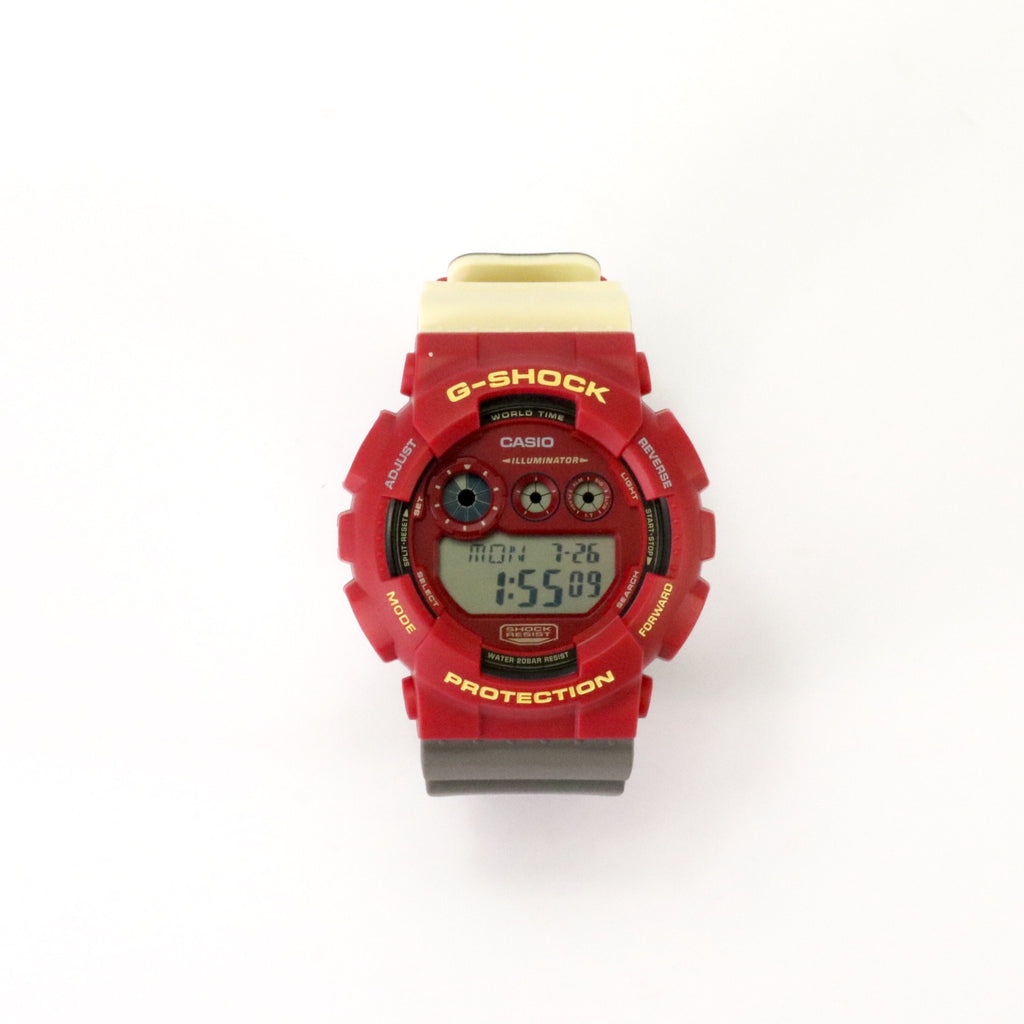 "G-Shock Dig Big Colour ""No Comply"" Burgundy Gold Black"