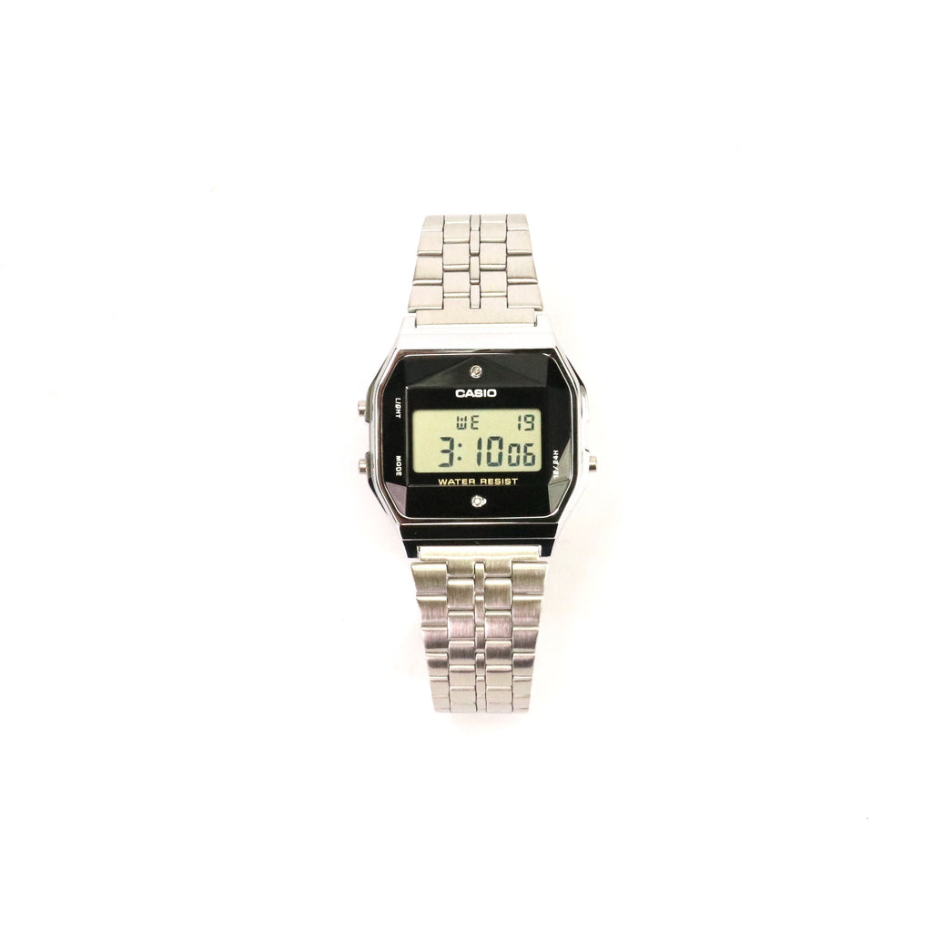 Casio Digital Made in Japan Diamond Series Silver