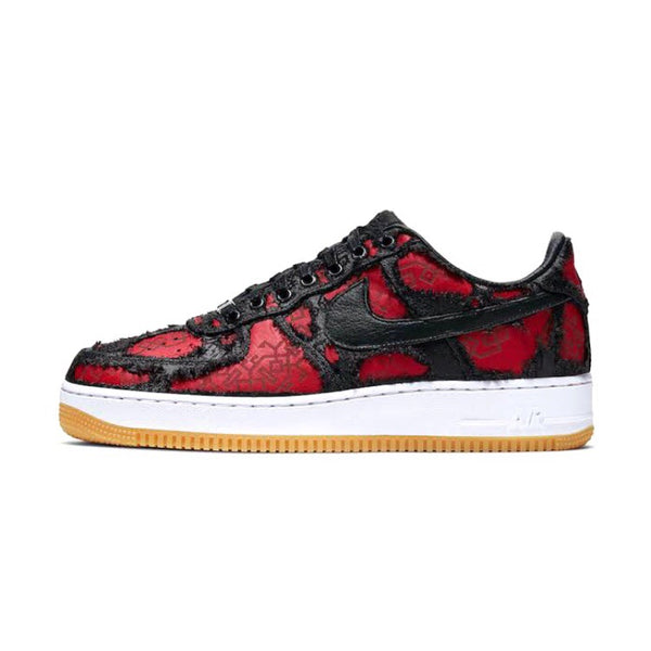 Air Force 1 x CLOT x Fragment Black University Red White