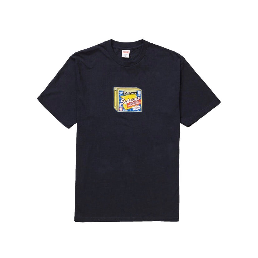 Cheese Tee Navy by Supreme