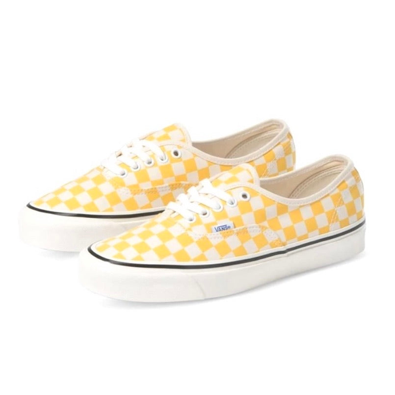 Authentic 44 Deluxe Anaheim Factory OG Yellow Checkered Board
