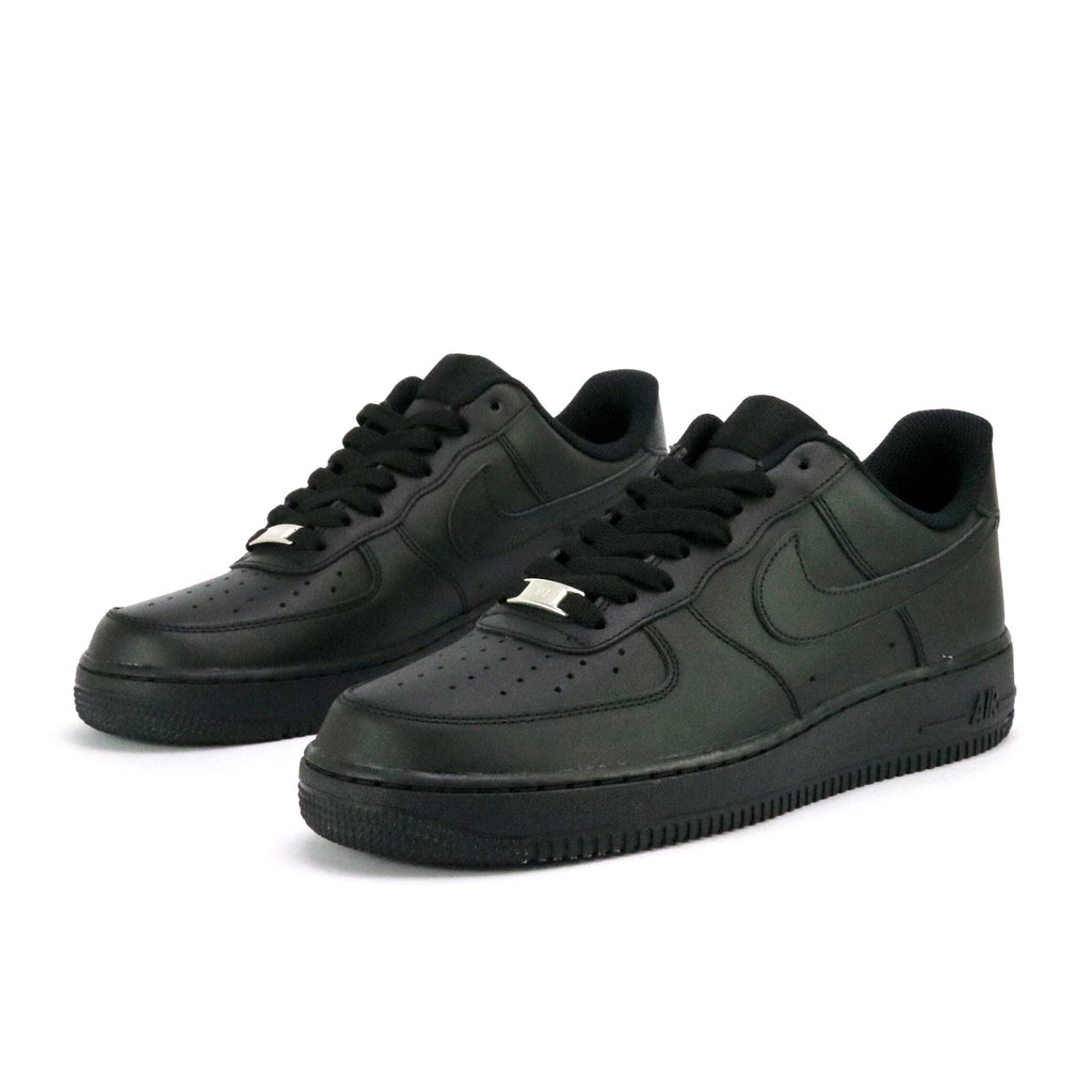 Air Force 1 07 Low Black Black