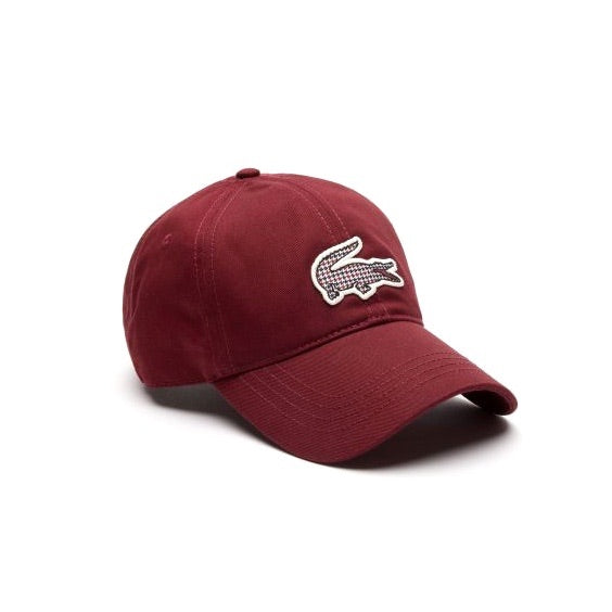 Lacoste Fall Countryside Cap Burgundy