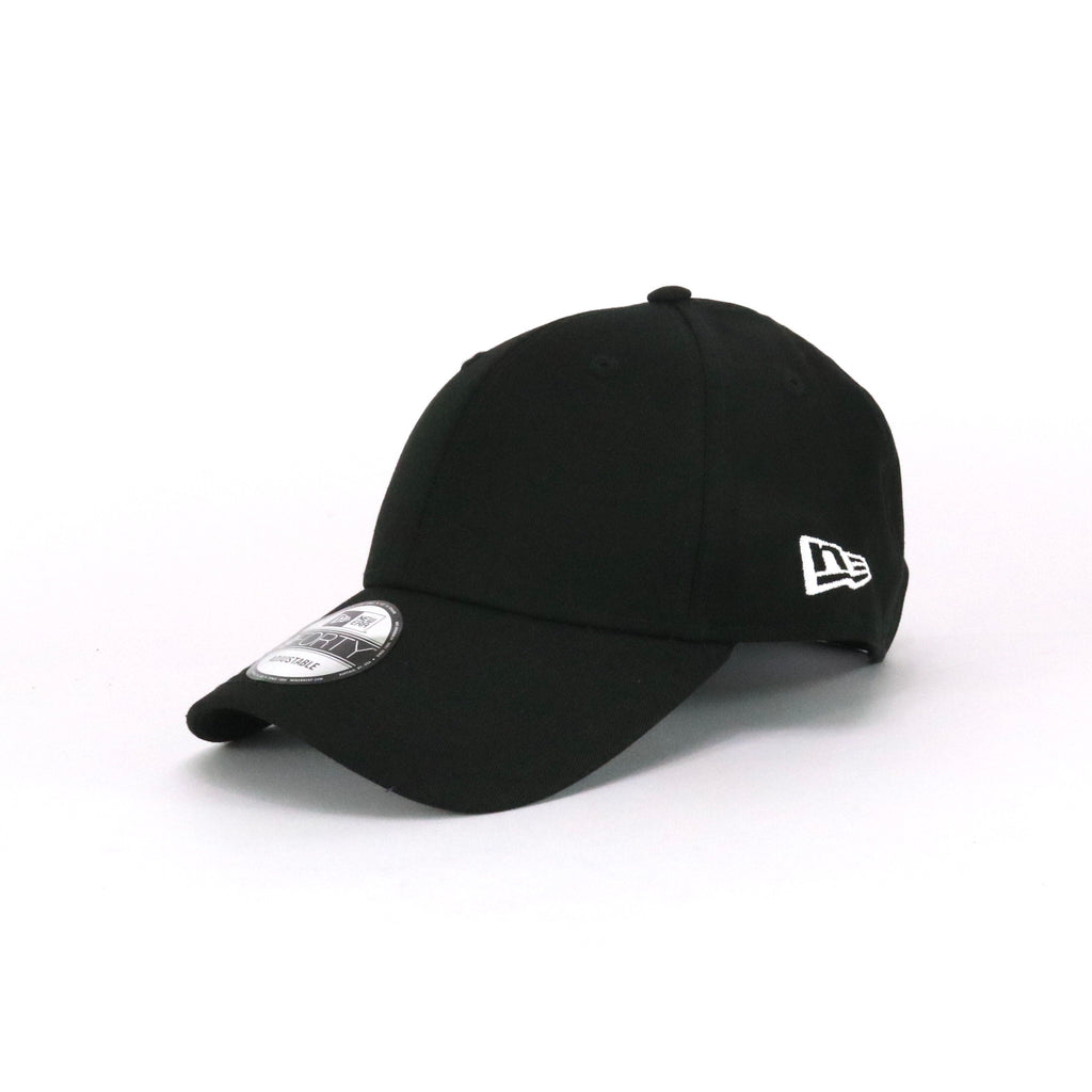 New Era 940 Cap Black Monochrome White Blank