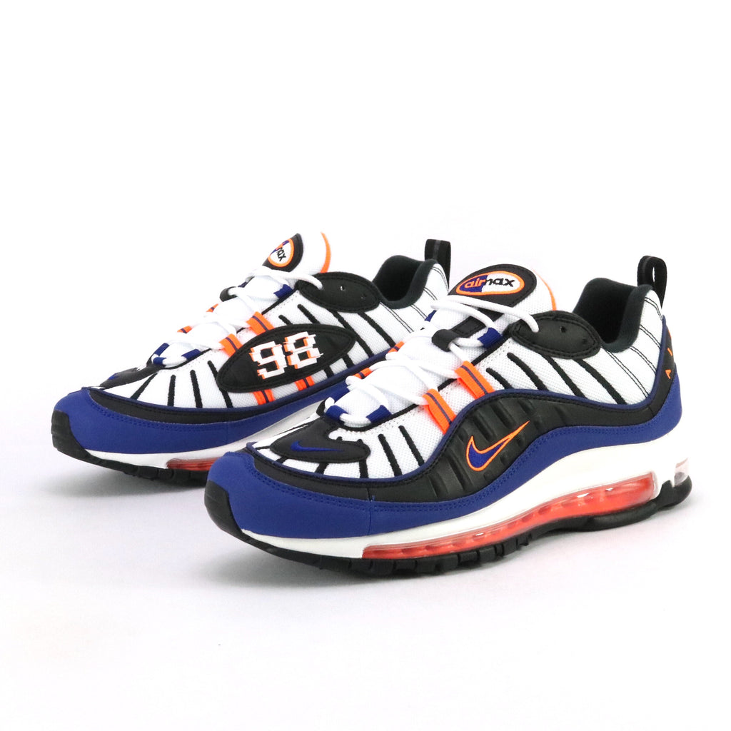 Air Max 98 White Deep Royal Blue