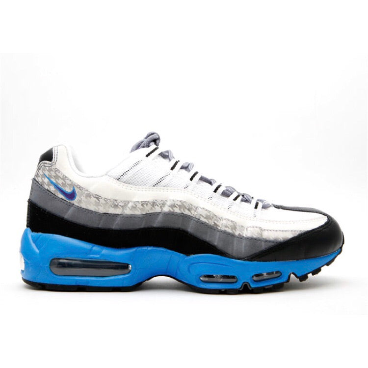 Air Max 95 White Varsity Purple Flint Grey Black (Japan Release Only)