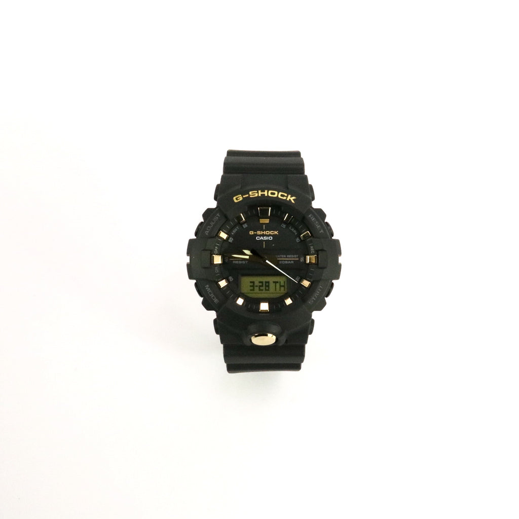 G-Shock Analog Digital Black Gold
