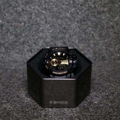 G-Shock GA110 Black Metallic Gold
