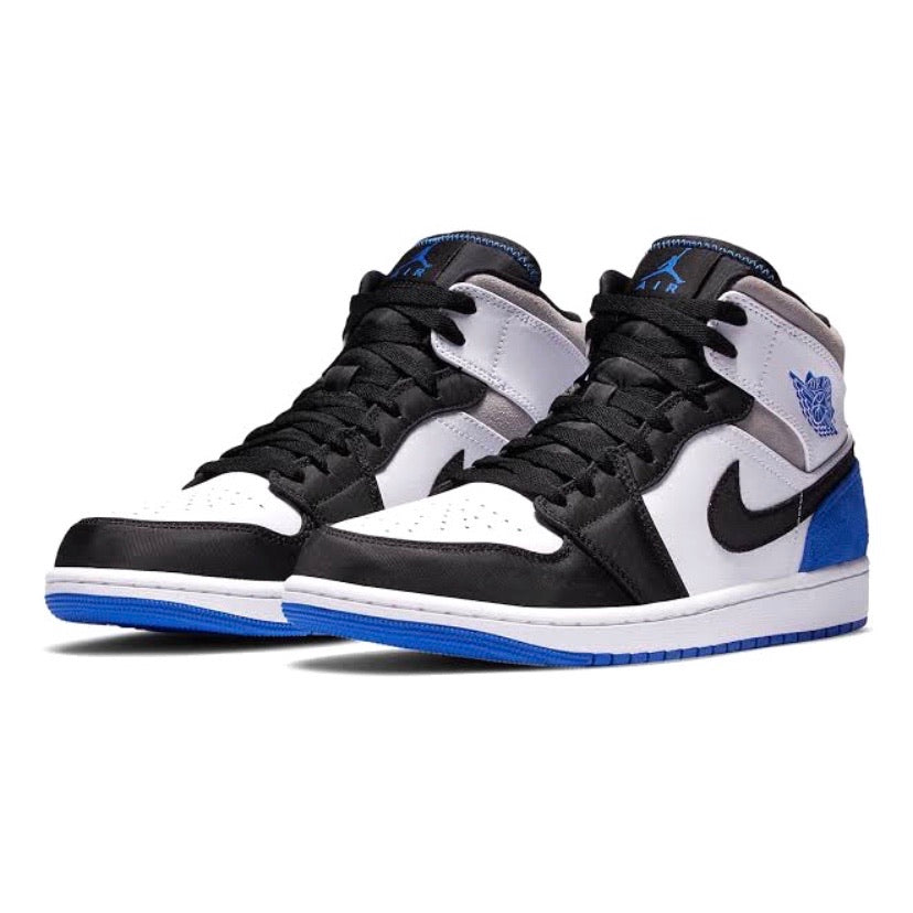 Air Jordan 1 Mid Union Black Toe Hyper Blue