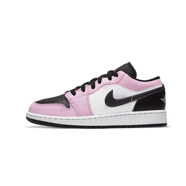 Air Jordan 1 Low GS Light Arctic Pink Black White