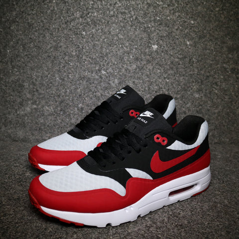 Air Max 1 Ultra Pure Platinum Gym Red Black