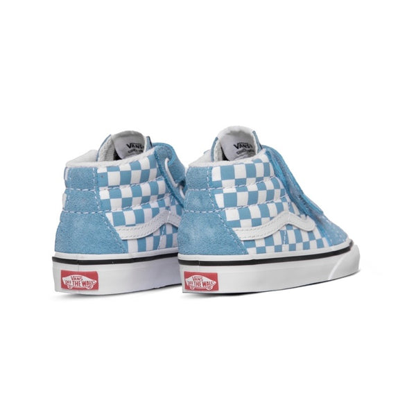 Toddler SK8 Mid Reissue Velcro Delphinium True White