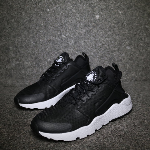 Women's Air Huarache Run Ultra Black Black White