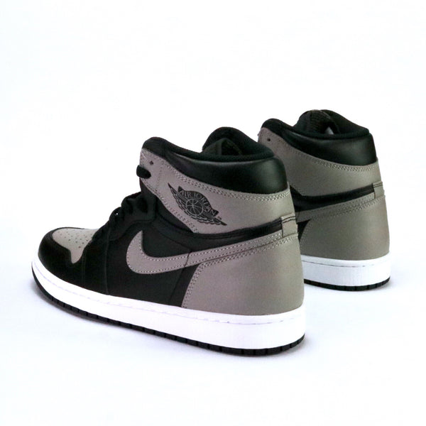 "Air Jordan 1 Retro ""Shadow"" 2018 Black Medium Grey White"