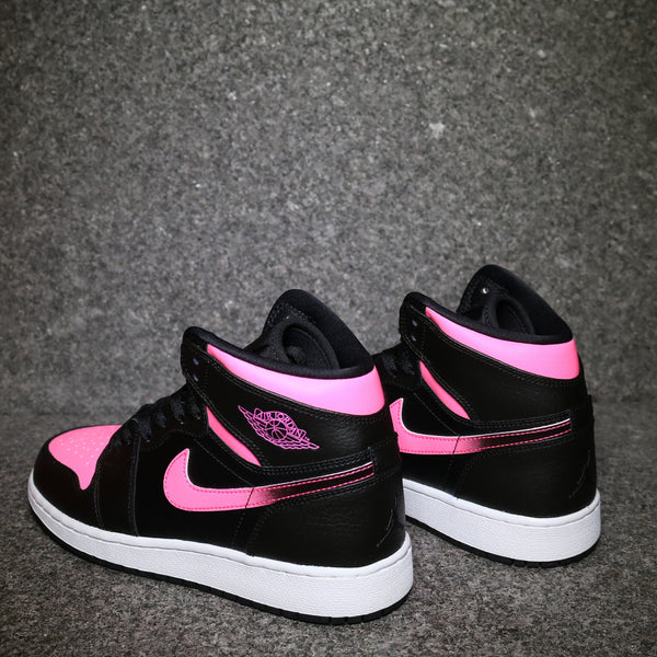 Air Jordan 1 Retro GG Black Vivid Pink
