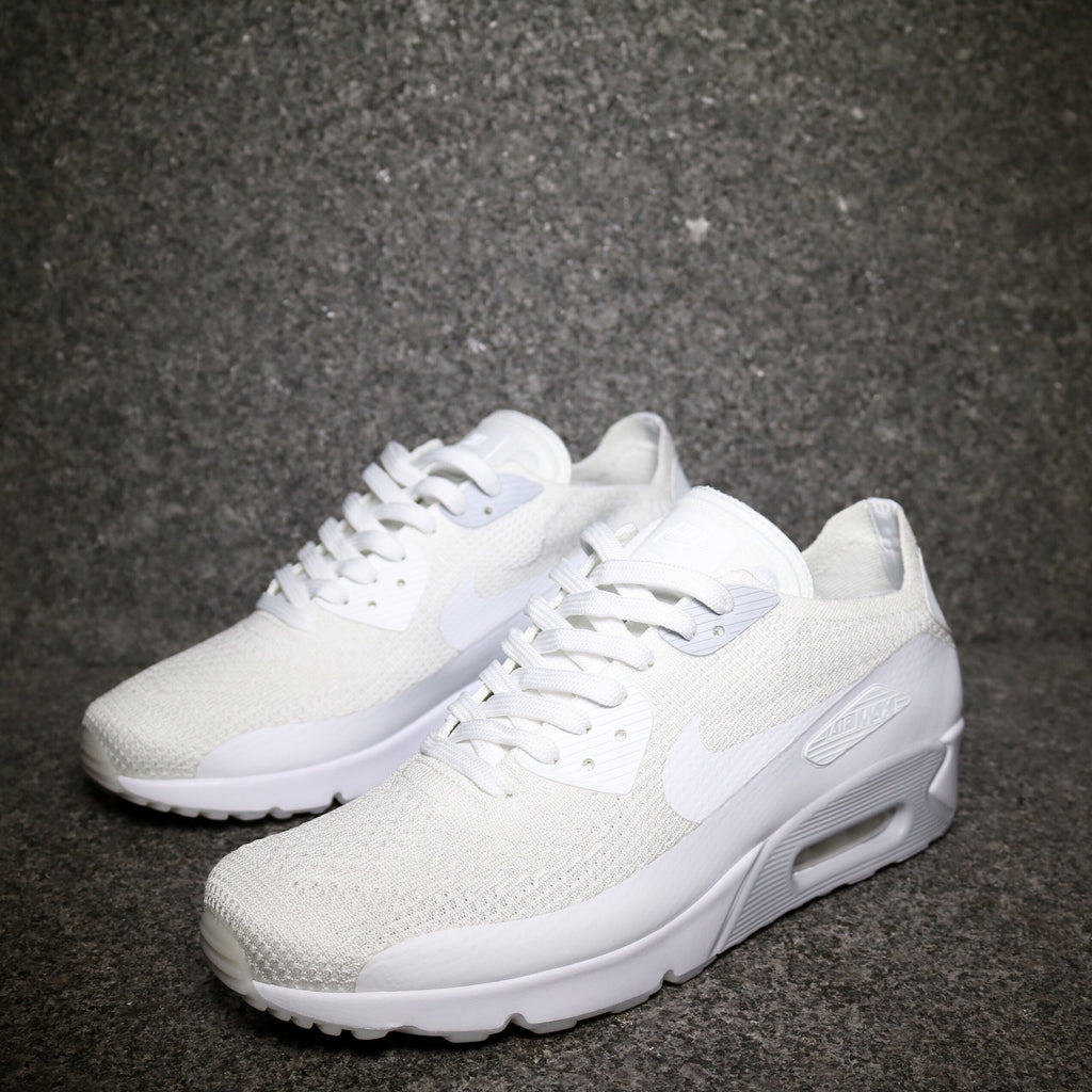new product 9ca20 91adf Air Max 90 Ultra 2.0 Flyknit White Pure Platinum