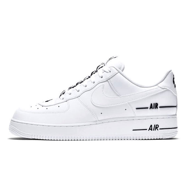Air Force 1 07 Low LV8 3 White White Black
