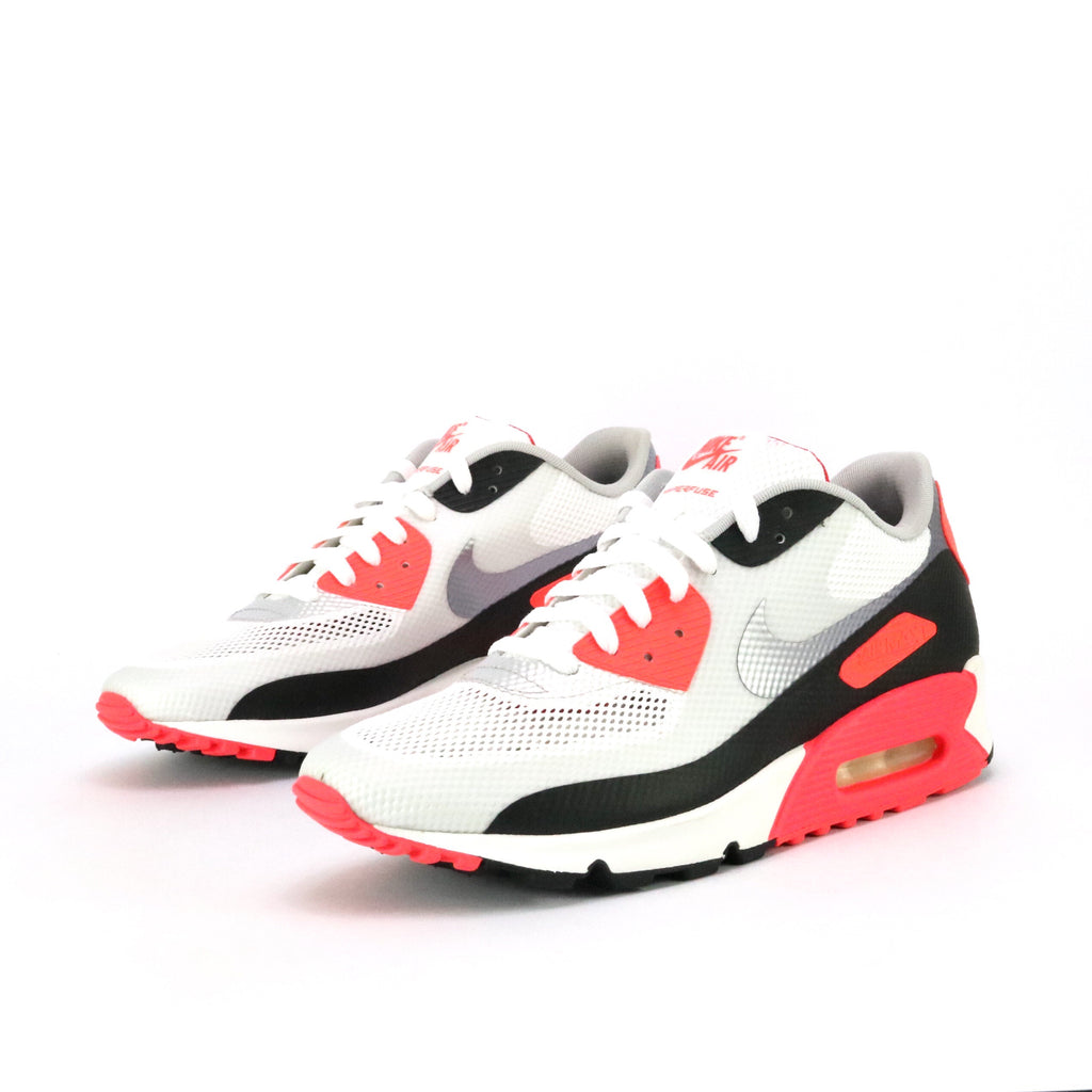 Air Max 90 'Infrared' Hyperfuse NRG White Cement Grey Infrared