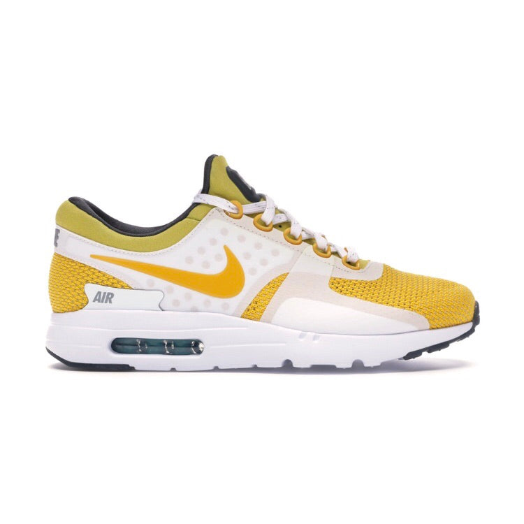 Air Max Zero White Vivid Sulphur SPC Black Anthracite