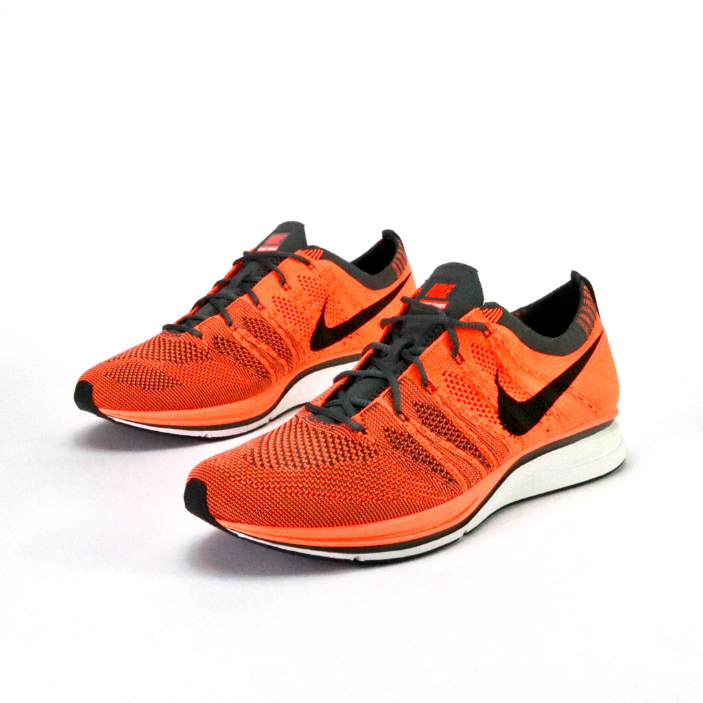 Flyknit Trainer Total Orange Dark Grey