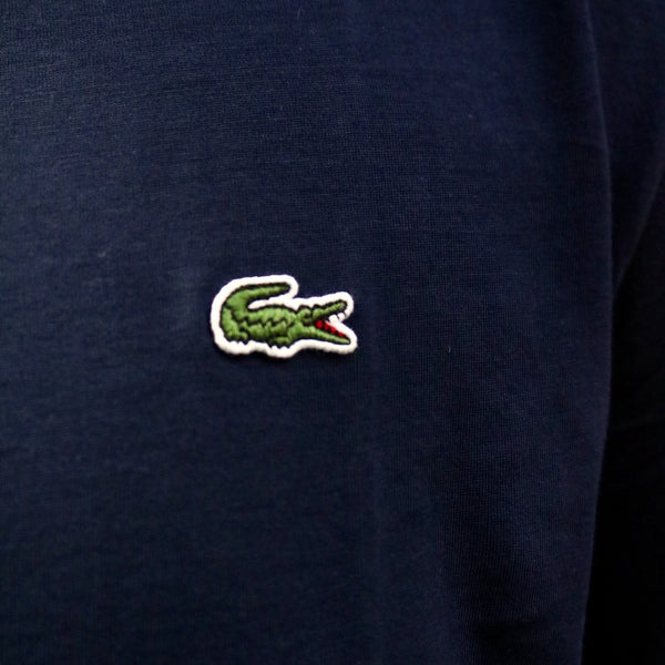Lacoste Basic Crew Neck Tees Navy