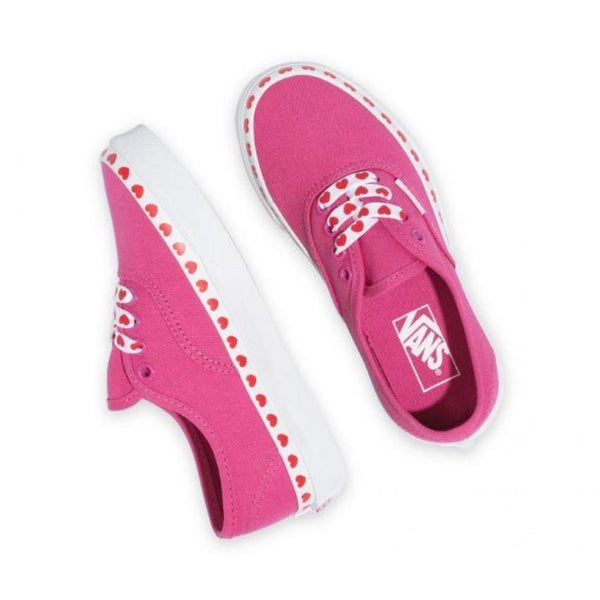 Authentic Fuschia Purple Heart Foxing by Vans