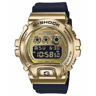 Metal Collection Metallic Gold Black GM6900G-9D by G-Shock