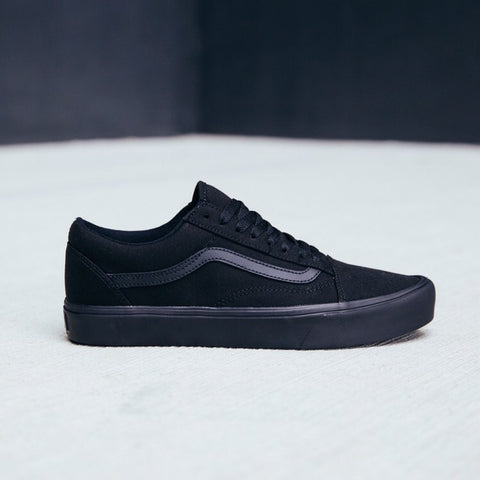 Old Skool Lite Canvas Black Black