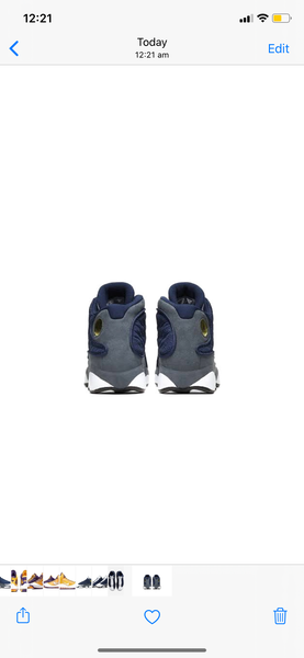 Air Jordan 13 Retro GS Flint 2020 Navy University Blue