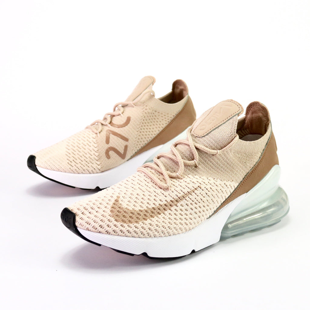 Women's Air Max 270 Flyknit Guava Particle Beige