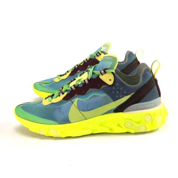 React Element 87 x Undercover Lakeside Blue Electric Yellow