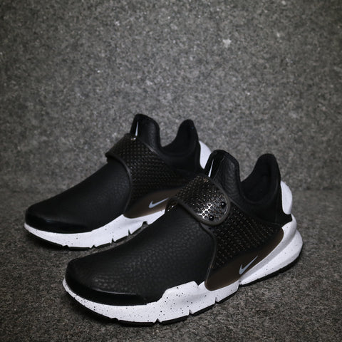 Women's Sock Dart Premium Black White Black