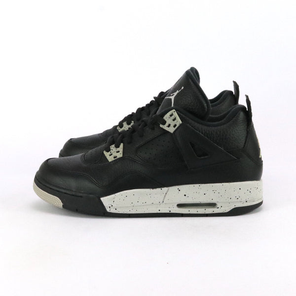 "Air Jordan 4 Retro ""OREO"" GS Black Tech Grey Black"