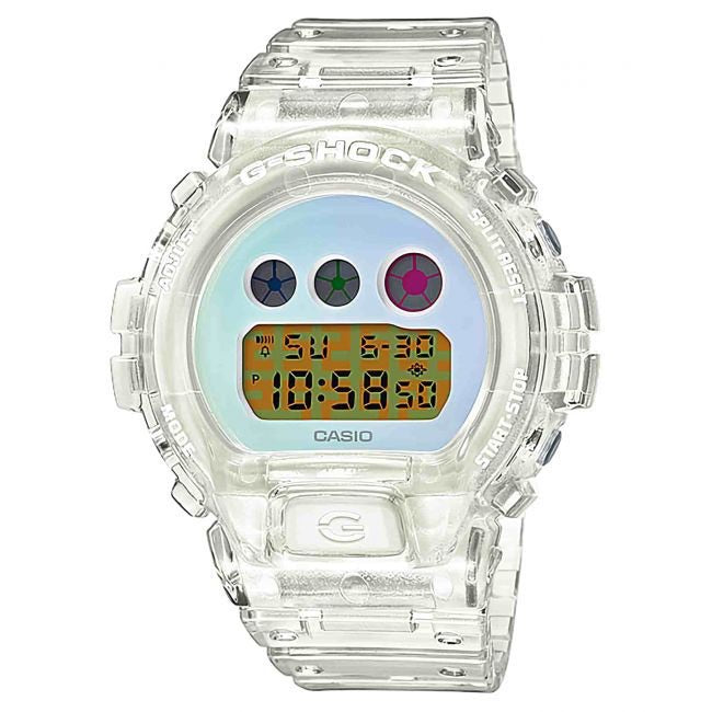 Casio G Shock DW6900SP-7D White Clear