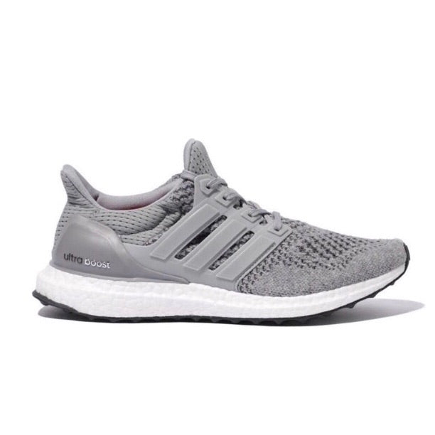 Women's Ultra Boost 1.0 'Wool Grey' Grey Silver Metallic Solar Red