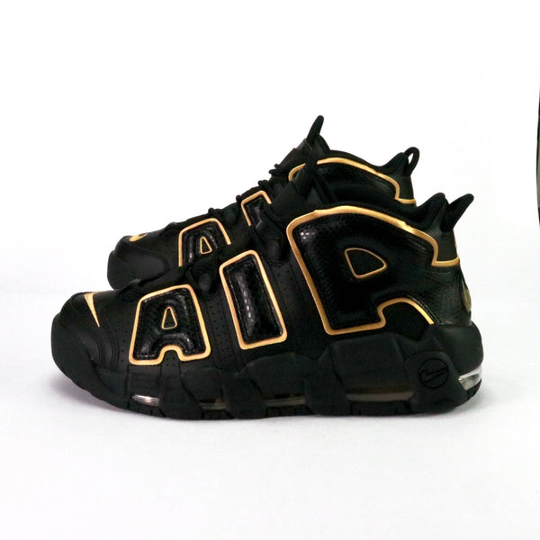 Air More Uptempo '96 QS France Black Metallic Gold