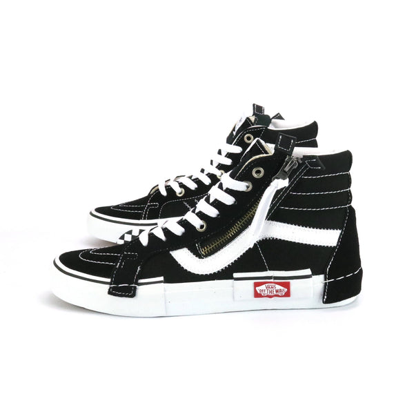 SK8 Hi Reissue Patchwork Black White