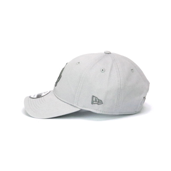 New Era 940 LA Dodgers Grey on Grey