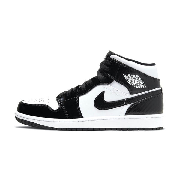 Air Jordan 1 Mid SE Carbon Fibre Black White