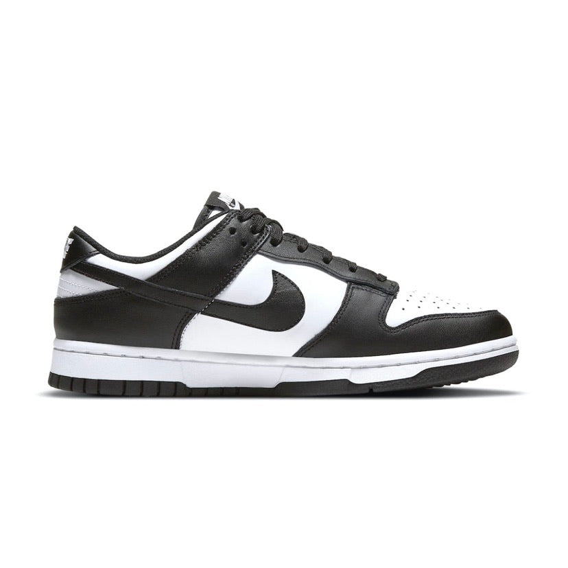 Men's Dunk Low White Black White Panda