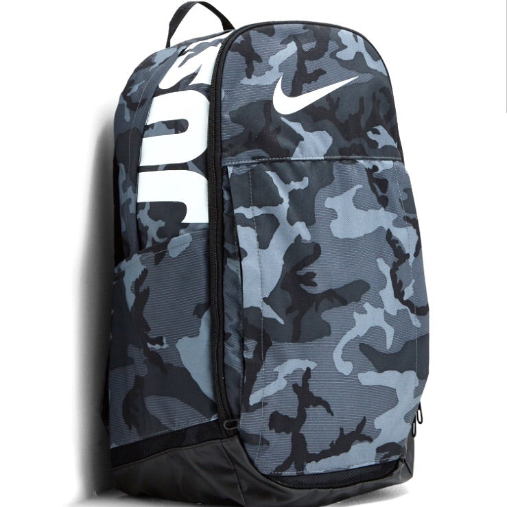Nike Brasilia Backpack Black Camo White
