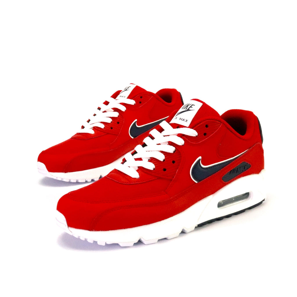 Air Max 90 University Red Blackened Blue