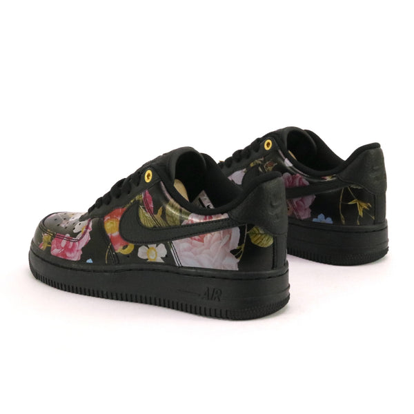 Women's Air Force 1 07 Luxe Black Floral Black