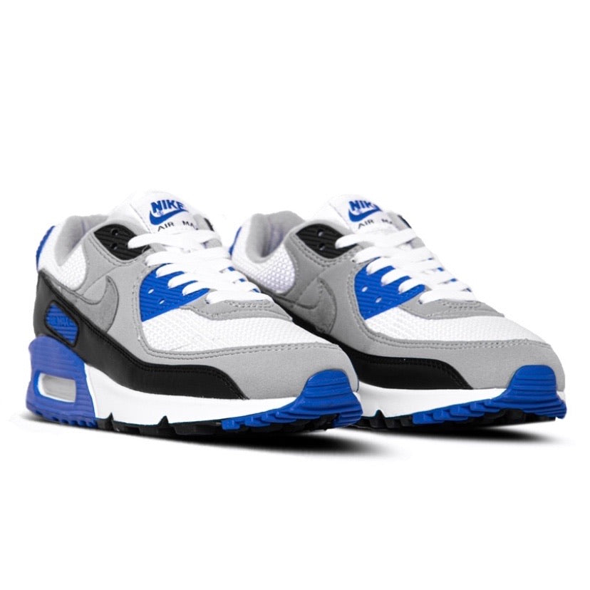 Air Max 90 OG White Royal Particle Grey