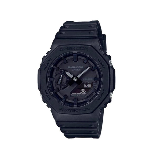 G-Shock GA2100 Carbon Black Analog Digital
