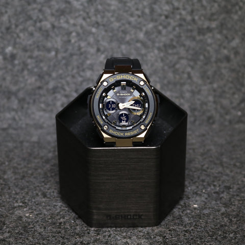 G-Shock G Steel Series GSTS100G Gold Black Gold