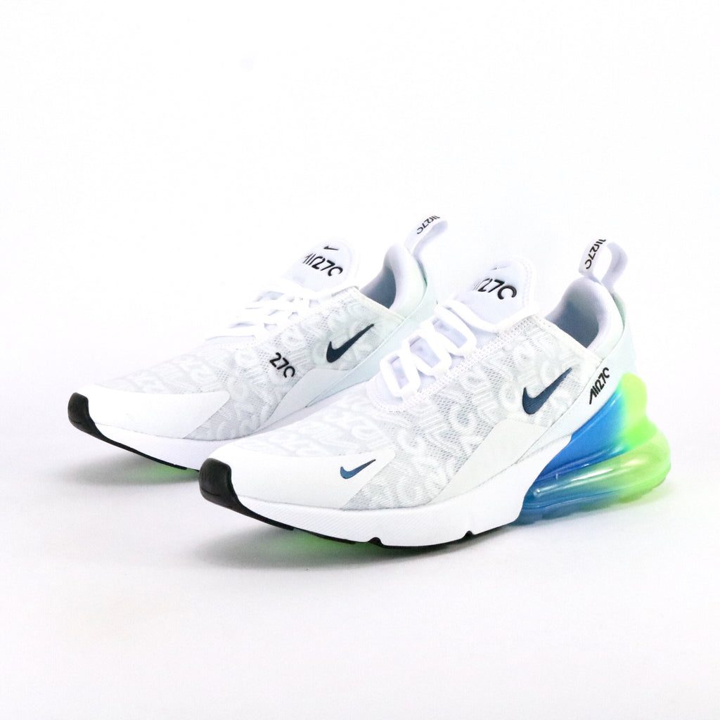 Air Max 270 Special Edition White Explosion Green Yellow
