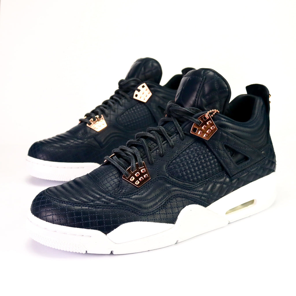 a09820e796f9 Air Jordan 4 Retro Premium Obsidian White Bronze – Sole Mate Sneaker  Boutique