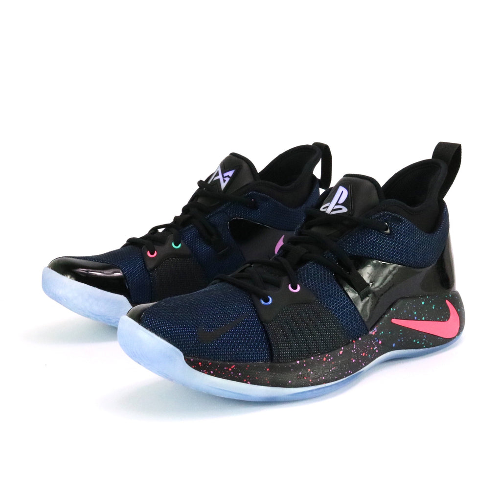 Nike Paul George 2 Playstation Black Racer Blue